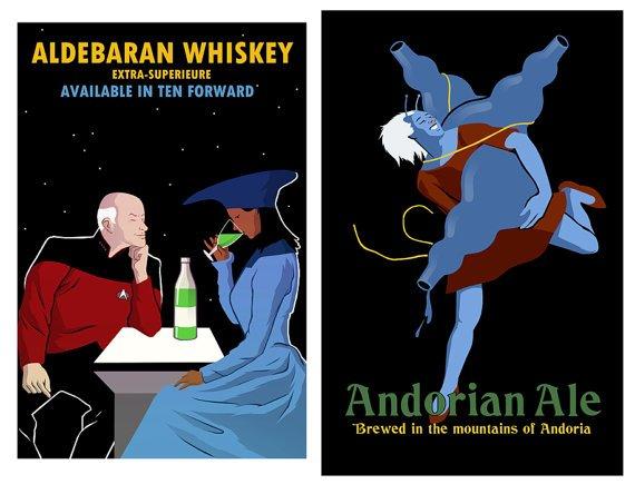 Etsy Find : Star Trek Beverages Poster « SciFi TAKEOVER