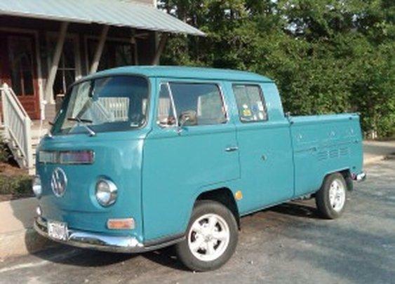Volkswagen Type 2 Pickups and Panel Vans
