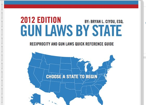 The Firearm Blog » Gun Laws By State