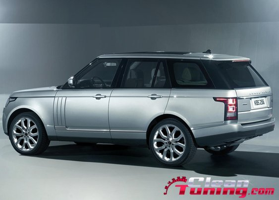 The New 2013 Range Rover   CleanTuning.com