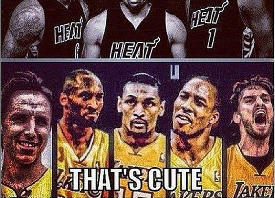 lakersness / #Heat vs #Lakers