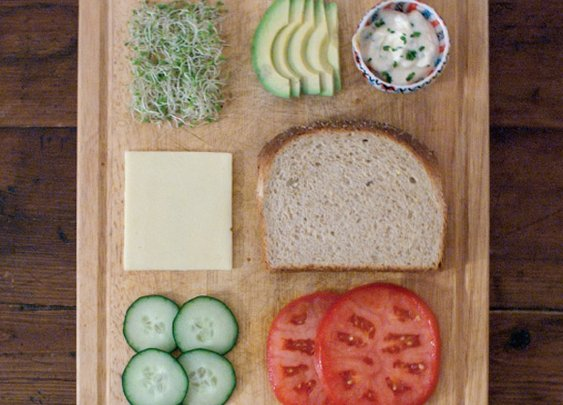Stately Sandwiches: Deconstructed sandwiches make for good foodtography