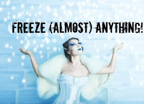 Freeze (Almost) Anything! | Sharpologist