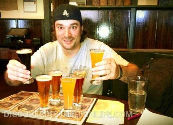 4oz beer samples. $1.50 each