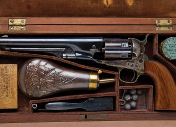 Colt 1860 New Model Army Pistol