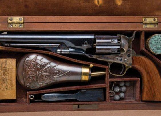 Colt 1860 New Model Army Pistol