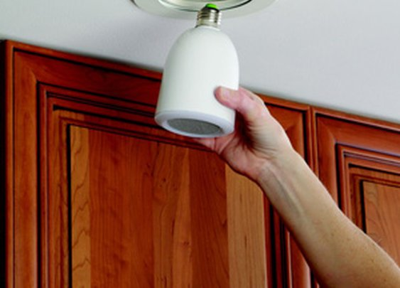 Audio Light Bulb - The Green Head