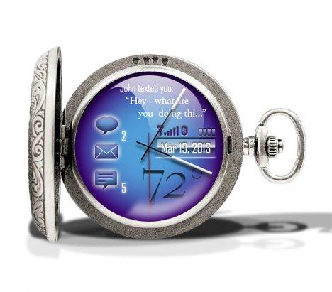 Adam Huffman Cobalt Pocketwatch
