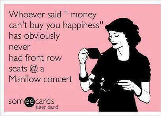 That's right!  Manilow rocks!