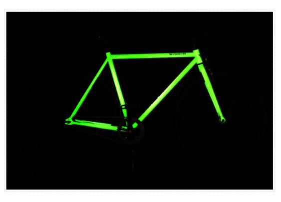 Kilo glow-bike ups cycling safety when the sun goes down