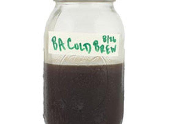 BA's DIY Cold Brew Coffee Recipe: BA Daily:  bonappetit.com