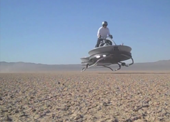 Video purports to show successful hover bike test flights