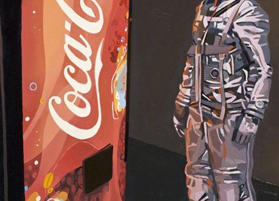 Astronaut Dinosaur - The Paintings Of Scott Litsfield
