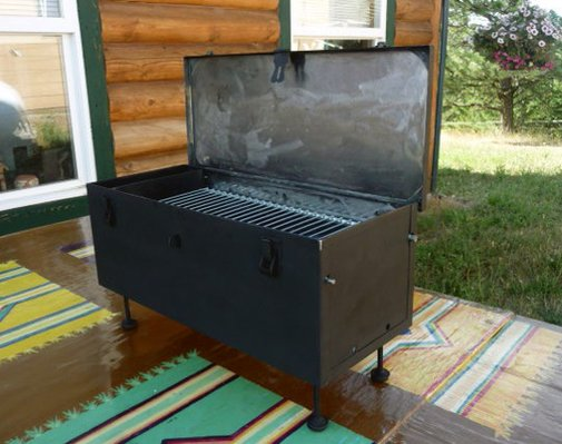 A Working Grill from an Old Tool Box  Instructables  | Apartment Therapy