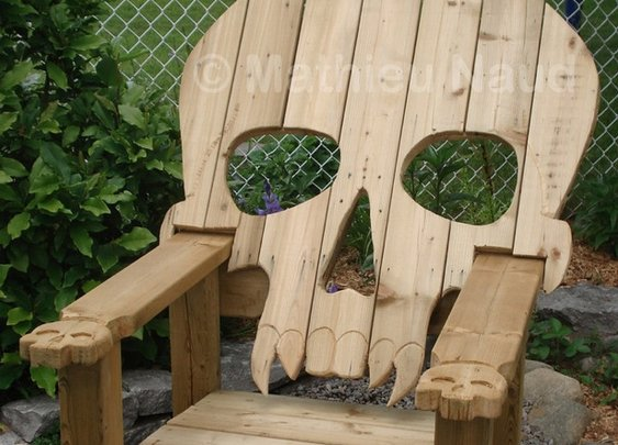 Conceptual Skull Chairs