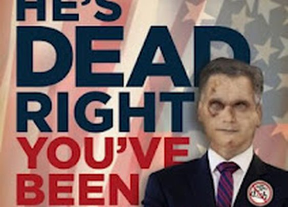 THE DEAD WAR SERIES: AMC introduces zombie presidential candidate, A. Zombie