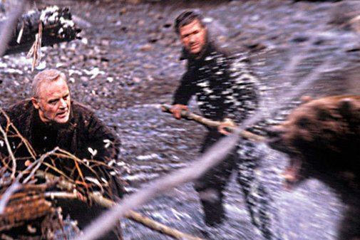 The Edge (1997); Hopkins and Baldwin!