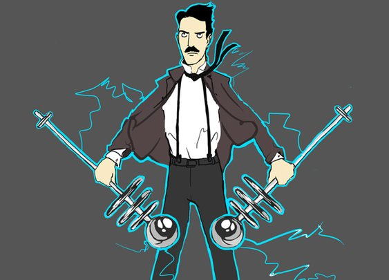The Oatmeal has raised over $1.1M for a Nikola Tesla museum