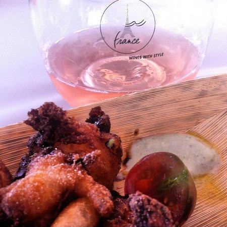 Cheese Curds & Rose