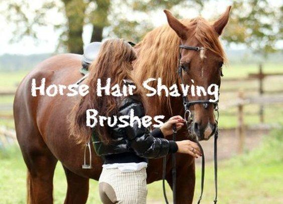 Horse Hair Shaving Brushes | Sharpologist