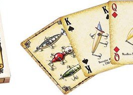 Antique Lure Playing Cards (single deck)  |  White Wing Label