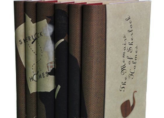 Sherlock Holmes Set  |  Juniper Books - Thatcher Wine