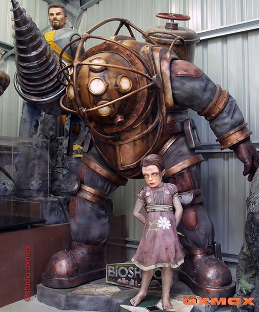 Own Your Own Life-Size Bioshock Big Daddy and Little Sister