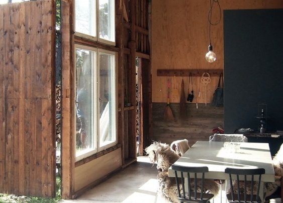 Before & After: A Garage Turned Summer House in Sweden