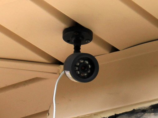 Homemade Home Security — DIY How-to from Make: Projects