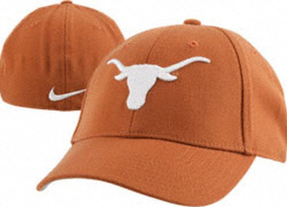 Texas Longhorns Orange Nike Fitted Hat
