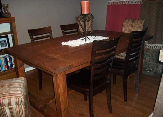 How to Make a Dining Room Table by Hand