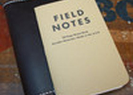 Leather Field Notes Holder in Espresso