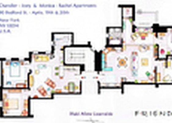 15 Floor Plans Of TV's Best Homes