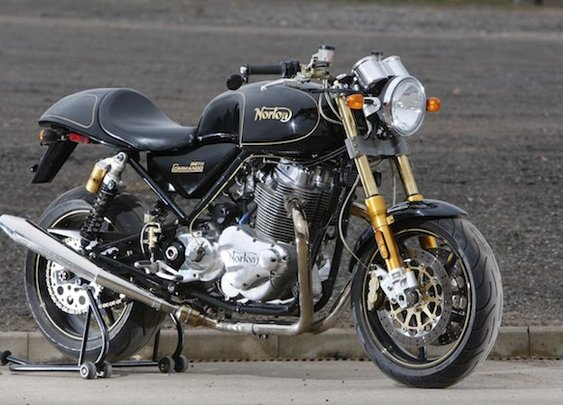 Norton Commando one step closer to the States... hopefully