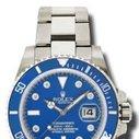 Bright blue Submariner