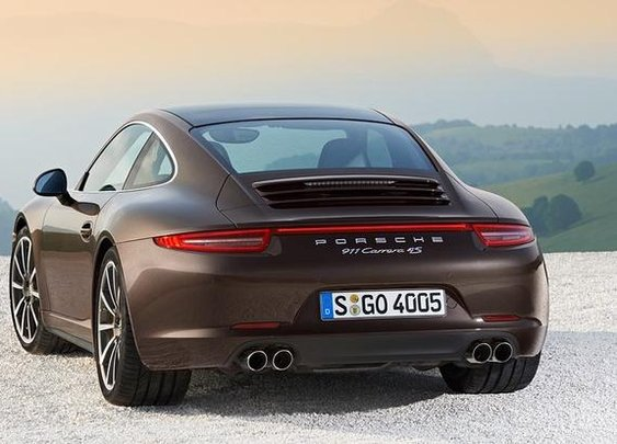I like brown cars. 2013 Porsche 911 Arrives as AWD Carrera 4 - AutoTrader.com