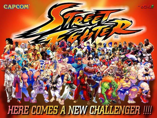 Happy 25th Birthday Street Fighter! | Gentlemint