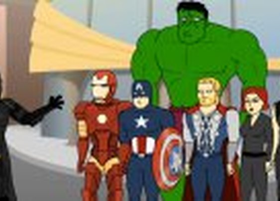 The Dark Knight Meets The Avengers (video)