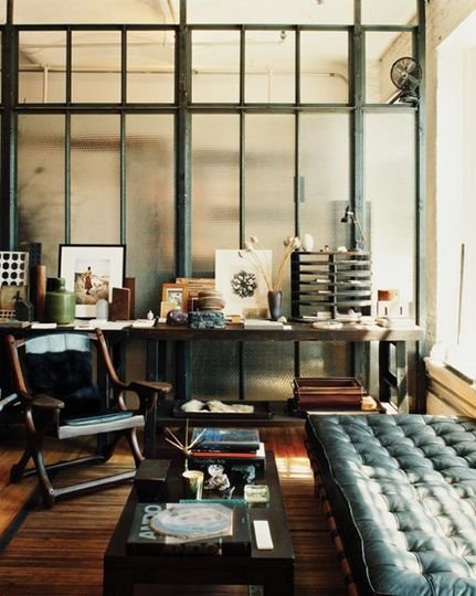 Masculine Interiors by Roman & Williams | Apartment Therapy