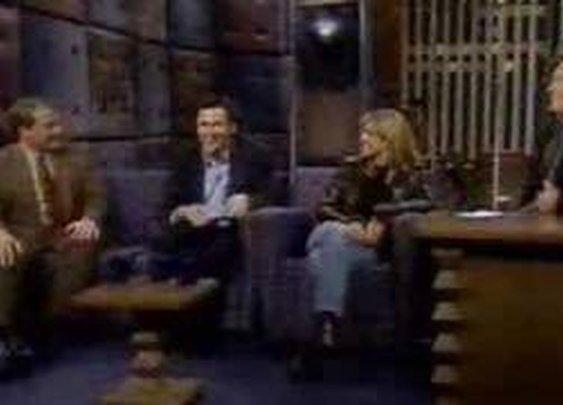 CLASSIC - Norm Macdonald/ Courtney Thorne Smith on Conan