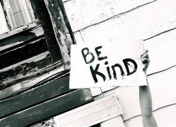 It's more important to be kind than clever