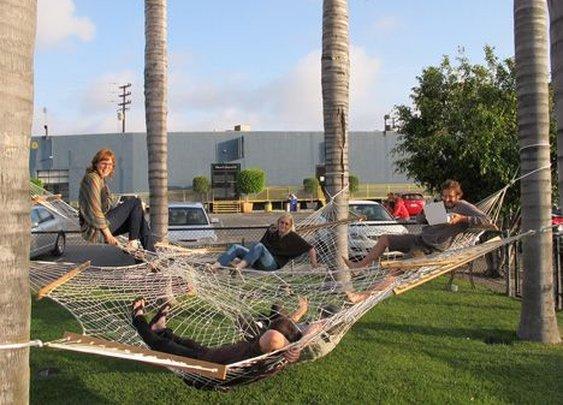Spiderweb hammock