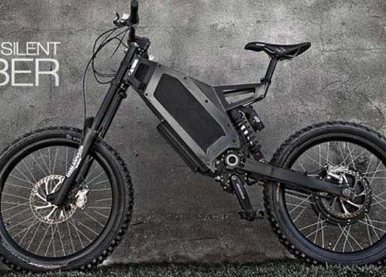 Stealth Bomber Electric Bike Can Do 50 Mph