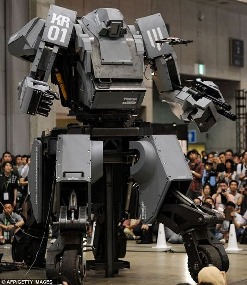 13-Foot, 4.4-Ton Robot You Can Control With iPhone