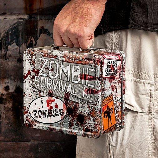 Zombie survival kit lunchbox