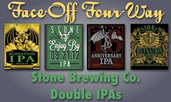 FACE-OFF: Stone Brewing Co. Double IPAs – Beer of Tomorrow
