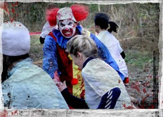 5K Obstacle Course Zombie Race - Run For Your Lives