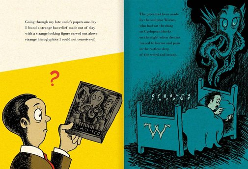Dr Seuss vs Call of Cthulhu - Boing Boing
