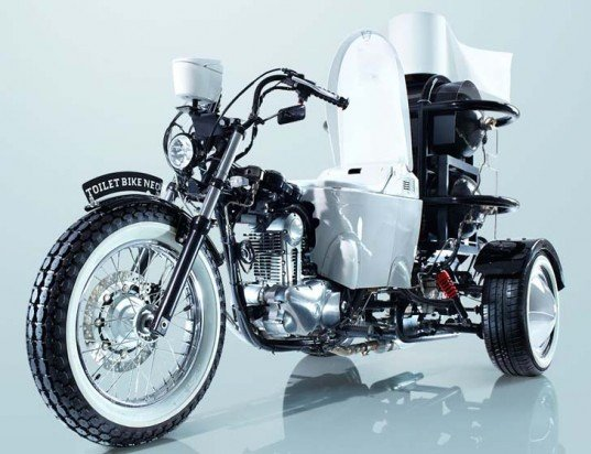 Inhabitat's Week in Green: go-kart made of Lego bricks, TOTO toilet bike and the launch of 'Willow Glass' -- Engadget