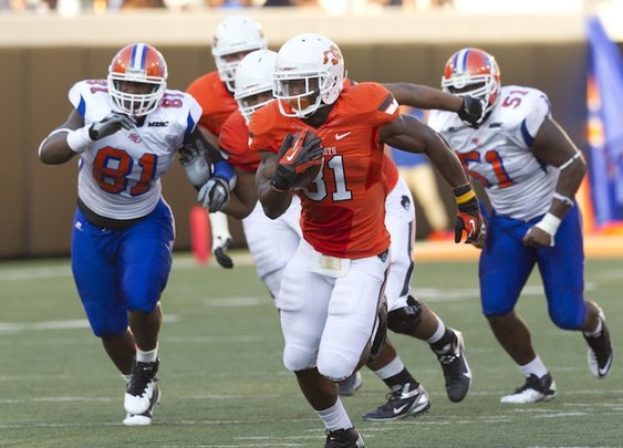 By The Numbers: Savannah State | Pistols Firing